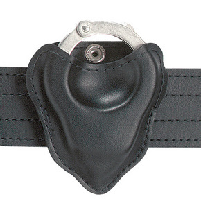 Safariland Model 090 Open Top Handcuff Case - Hinged Cuff - Safarilaminate - Plain | 090h- 16