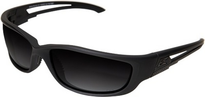Bladerunner Xl Tactical Glasses - Polarized Gradient Smoke - Black