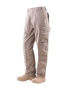 24-7 Series® Men`s Tactical Pants - Khaki 65/35 Poly/Cotton