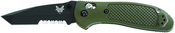 Benchmade 553 Griptilian ComboEdge®/ BK1 Coated Blade/ Olive Drab Handle