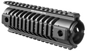 Fab Defense Carbine Length M16 Aluminim Quad Rail | NFR