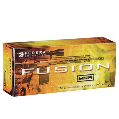 Federal Fusion .223 Jacketed Soft Point 62 Grain | Fedf223msr1