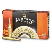 Federal Gold Medal Ammunition 308 Winchester 168 Grain | FEDGM308M