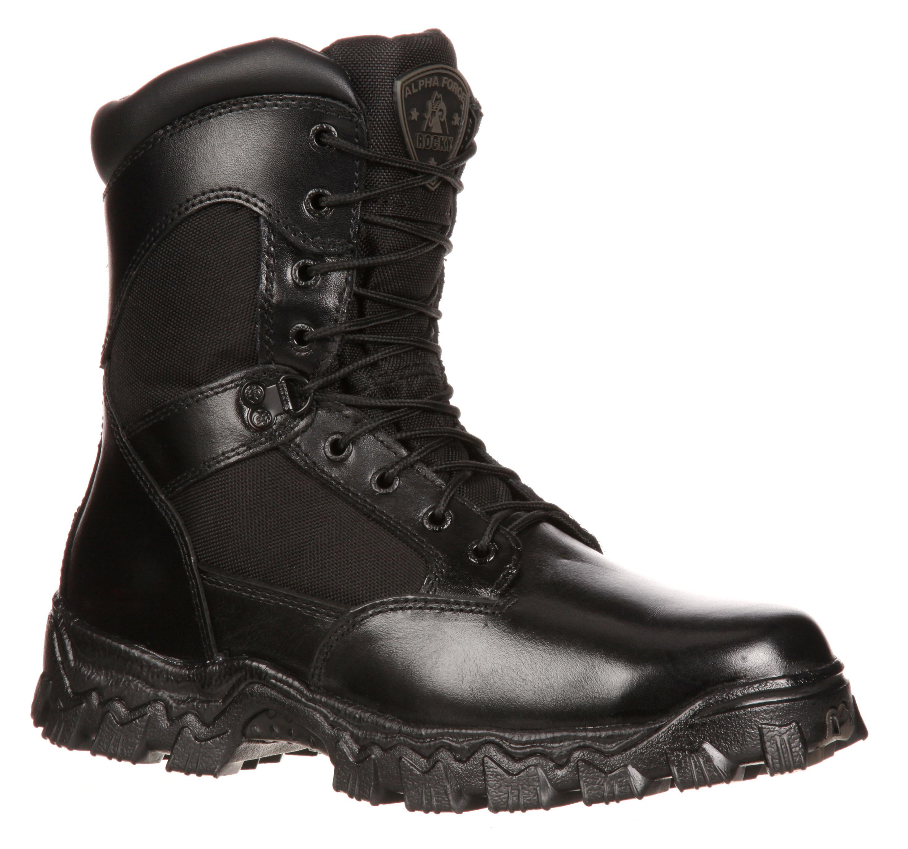 Rocky Alphaforce Zipper Waterproof Duty Boot - 2173 | Barneys ...